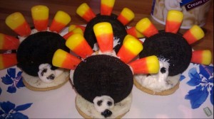 Oreo Turkey Treats