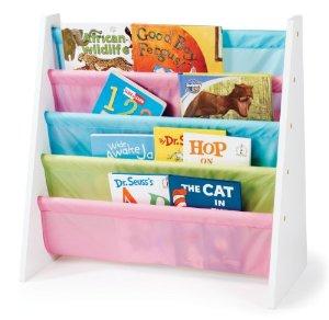 Tot Tutors Pastel Color Book Rack