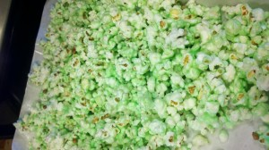St. Patrick's Day Popcorn Treat